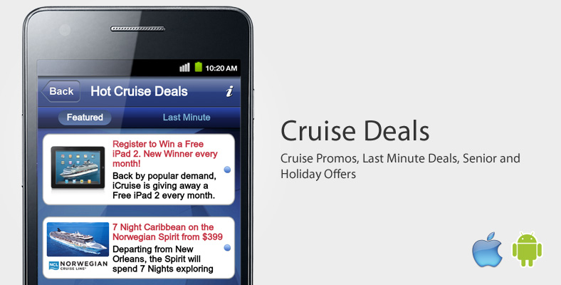 Best Travel Apps - Cruise Finder iPhone App and Cruise Finder