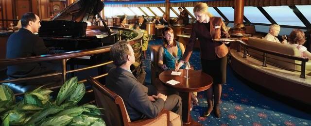 Cunard Line Lounge