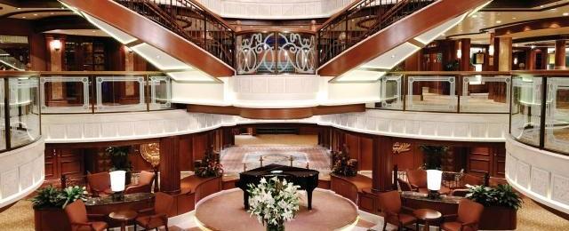 Cunard Line Atrium