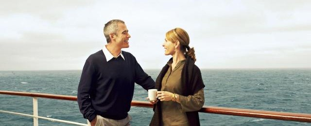 Cunard Line Couple