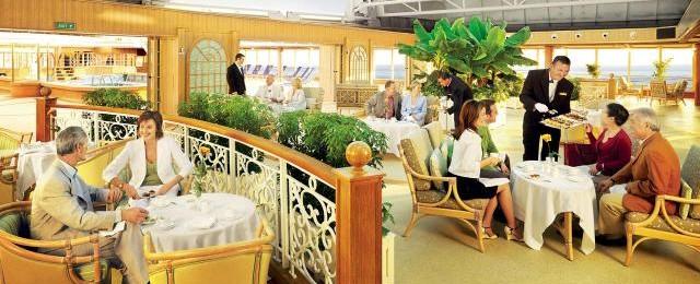 Cunard Line Deck