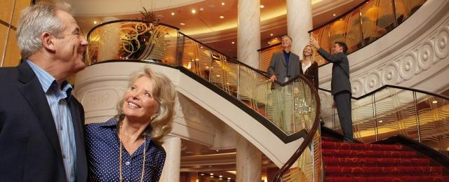 Cunard Line Staircase