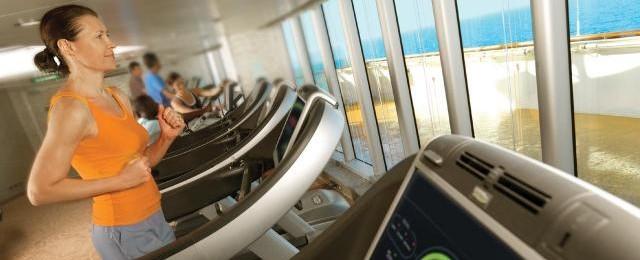 Cunard Line Gym