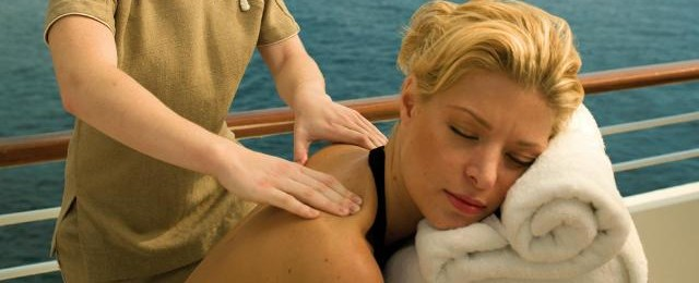 Seabourn Cruises Massage on Deck