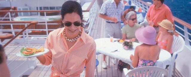 Seabourn Cruises Grilling