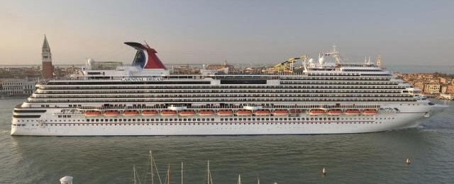 Carnival Dream in Venice