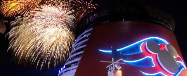 Disney Cruises Fireworks!