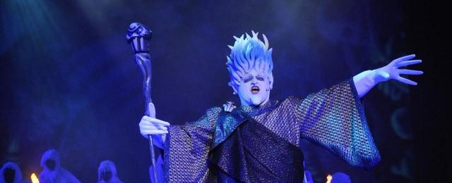 Disney Cruises Villains Live star Hades