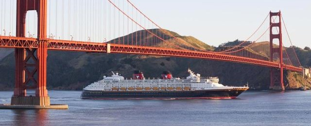Disney Cruises Wonder Arrives in California