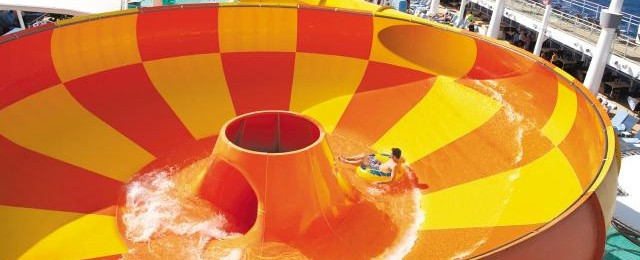 Norwegian Cruise Line Bowl Water Slide