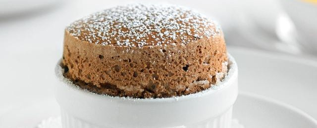 Princess Cruises chocolate Soufle
