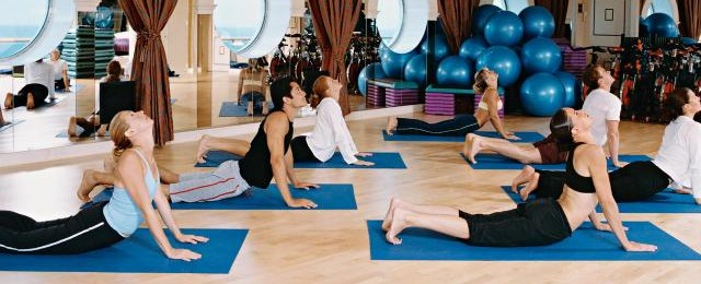 Royal Caribbean Cruises Work Out Class