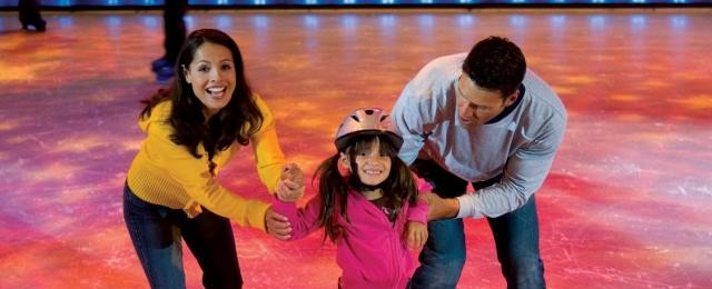 Royal Caribbean Cruises Ice Skating