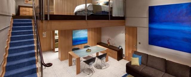 Royal Caribbean Cruises Loft Stateroom