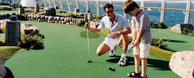 Royal Caribbean Cruises Mini Golf