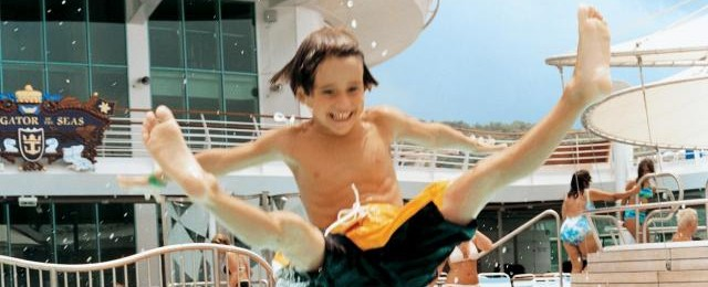 Royal Caribbean Cruises Flying Kid