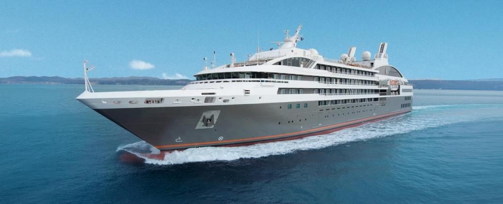 L'Austral Cruise Ship - Ponant Cruises L'Austral on ...