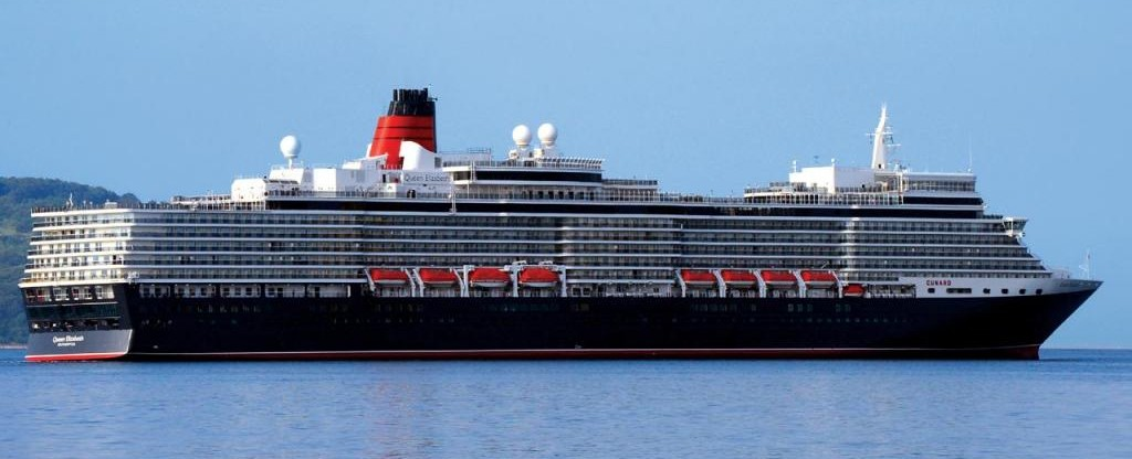 Queen Elizabeth Cruise Ship Cunard Line Queen Elizabeth