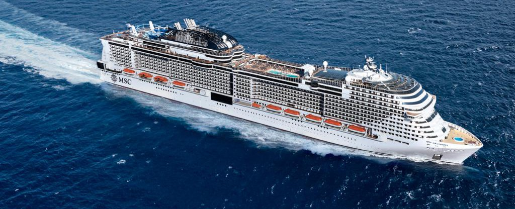 MSC Grandiosa Cruise Ship - MSC Cruises MSC Grandiosa on ...