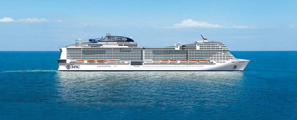 MSC Grandiosa Cruise Ship - MSC Cruises MSC Grandiosa on ...