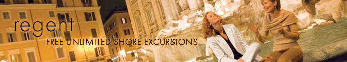 The Regent Experience - Free Unlimited Shore Excursions